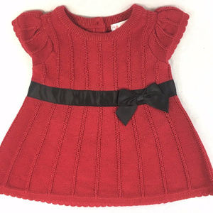 Cherokee Girls 2PC Red Sparkle Dress NEW